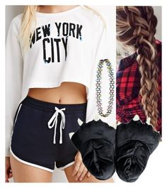 """""""Untitled #6204"""" by carmellahowyoudoin ❤ liked on Polyvore featuring moda, Forever 21 e Accessorize"""