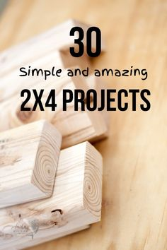 2×4 wood projects are simple, inexpensive, and look great! These amazing 2×4 project ideas are perfect for every skill level – beginner woodworkers looking for a basic project, or experienced woodworkers. #woodworking #2x4projects #AnikasDIYLife 2x4 Wood Projects, Wood Projects For Beginners, Beginner Woodworking Projects, Wood Working For Beginners, Popular Woodworking, Fine Woodworking, Woodworking Crafts, Youtube Woodworking, Woodworking Supplies