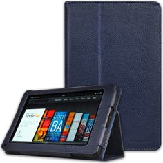 CaseCrown Bold Standby Case (Blue) for Amazon Kindle Fire Tablet (Not Compatible with Kindle Fire HD 7) by CaseCrown. $20.21. Protect your Amazon Kindle Fire with this CaseCrown Bold Standby Case at all timesDesigned for style and protectionThis case sports a simple and classy folio design made from synthetic leather, and the interior is lined with non-scratch material so you do not need to worry about any damages.Functionality Simply insert your Kindle Fire in the op...