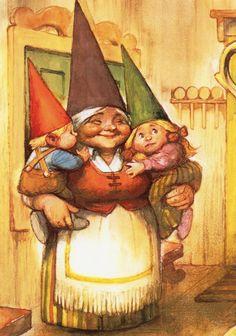 Art Print by Rien Poortvliet Gnome elf  Lisa David by CuteEyeCatchers on Etsy https://www.etsy.com/listing/238864006/art-print-by-rien-poortvliet-gnome-elf