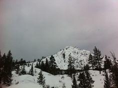 Snow in Reno, Nevada in December 2015