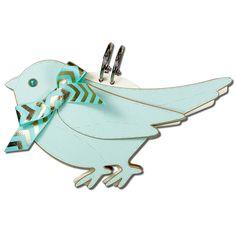 JMRush Designs: Stitched Bird Baby Advice Book