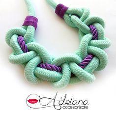 Nuevos #necklaces #collares #knots #nudos. al estilo #paracord muy femenino.