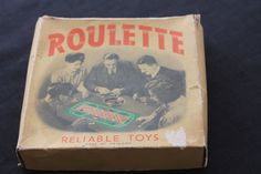 Vintage Reliable Toys England Roulette Game by PeggysTrove on Etsy