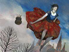 Motherland Chronicles #18 - bunny yaga by tobiee Digital Art / Drawings & Paintings / Fantasy © 2013 tobiee