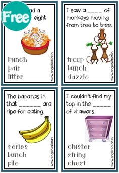 collective noun examples in sentences and charts with pictures for class 2 and class Study collective nouns for people, place, animals and things. Proper Noun Examples, Collective Nouns Worksheet, Flock Of Crows, English Grammar For Kids, Proper Nouns, Plural Nouns, Picture Cards, Deck Of Cards, Anchor Charts
