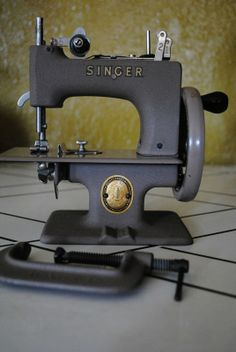 Sew Handy- still has it's original clamp to hold it to the table