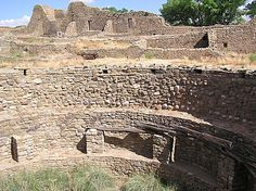 Open Kiva, Aztec Ruins NM, New Mexico. Need to read more about it, but it's right on the road between Chaco and Mesa Verde.