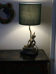 Lampada antiquariato tailandese