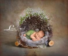 Digital backdrop background prop newborn baby by LaceCloudStudio