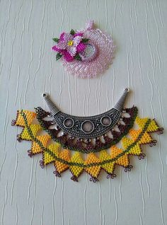 Knit Shoes, Crochet Videos, Crochet Accessories, Diy Necklace, Crochet Earrings, Crochet Jewellery, Handicraft, Jewelry Art, Needlework