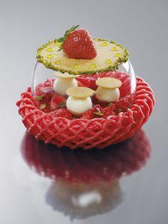 La tarte renversée, fraise-citron