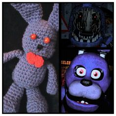 FNAF Bonnie the Bunny created by me (Charise Edwards)