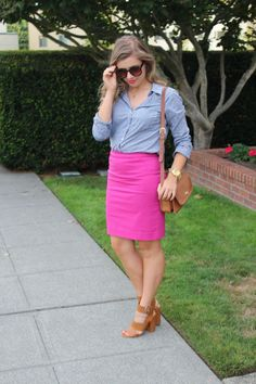 pink and gingham