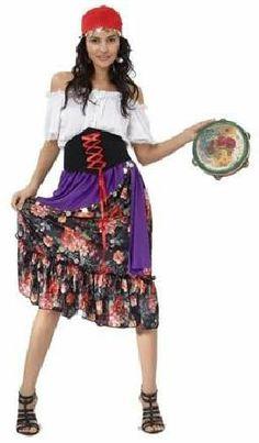 Tu mejor disfraz de zingara mujer para adulto bt 8050 Éste disfraz de Carnaval es ideal para divertirse en las Fiestas de Carnavales tan divertidas y estrambóticas como siempre y que cada vez se celebran en más Pueblos, Villas y Ciudades, tanto en la calle como en Pubs, Discotecas, Casas particulares, Restaurantes o Colegios y disfrazándote con un traje de Carnaval ayudarás a crear ese ambiente Carnavalesco, tan divertido, multicolor y variopinto que a todos nos fascina y nos divierte…