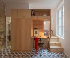 A Tiny Paris Apartment with a Subterranean Surprise — Dezeen