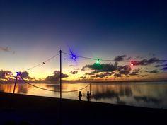 Sunset in Rarotonga by Kristin Hyde
