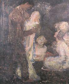 Jan Preisler - Svádění (Pokušení) (1901 – 1902) Modern Art, Painter, Painting, Oil Painting, Art
