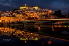 The Santa Clara Bridge - The Santa Clara Bridge is a road bridge over the Mondego River, in the center of the city of Coimbra. Construction began in 1951 and was inaugurated on October 30, 1954, by António de Oliveira Salazar.