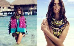 FashionMira: KAROLINA BABCZYNSKA BY GABOR JURINA FOR FASHION MAGAZINE
