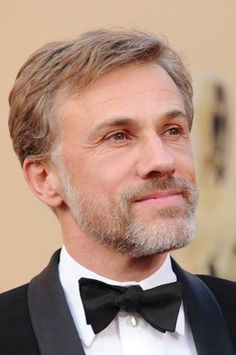 """Christoph Waltz """"It's kind of an obsession of mine that I don't talk about my characters. Because I play them."""""""