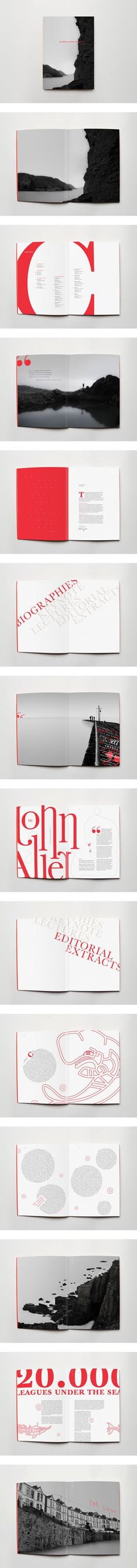 RNLI Catalogue - RNLI Catalogue Extremely interesting use of typography and layout design. RNLI Catalogue by Ciprian Robu Graphic Design Layouts, Brochure Design, Graphic Design Inspiration, Layout Design, Identity Design, Typography Layout, Graphic Design Typography, Lettering, Graphisches Design