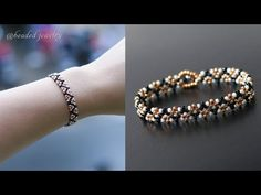 Making Bracelets With Beads, Seed Bead Bracelets, Seed Bead Jewelry, Seed Beads, Beading Jewelry, Diy Jewelry Making, Jewellery, Beaded Bracelets Tutorial, Beaded Bracelet Patterns