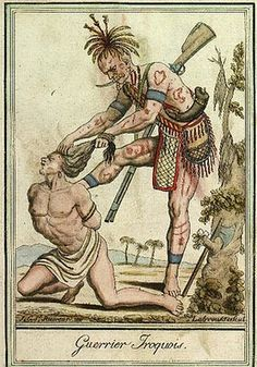 Iroquois Native Canadian Indian Tattoos  Jacques Grasset de Saint-Sauveur