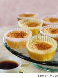 Portuguese Coconut Custard Tarts