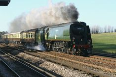 Orient Express steam train.