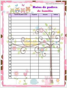 Agenda escolar 2018 Búho editable gratis School Calendar, Calendar 2018, Owl Information, English Phonics, World Thinking Day, Grammar Book, Flipped Classroom, Cardcaptor Sakura, Barbie