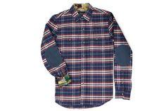 Men's Leon - Buck Blue Flannel