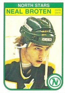 Neal Broten - Nor' Star and member of the USA Miracle Team of 1980 and Stanley Cup Winner (Devils)