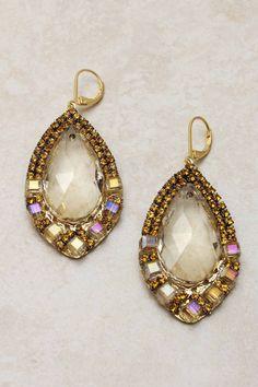 Citrine Daniella Teardrop Earrings