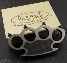 (#MT-KNUCKLES) Microtech Titanium Knuckles