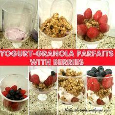 Yogurt-Granola Parfa