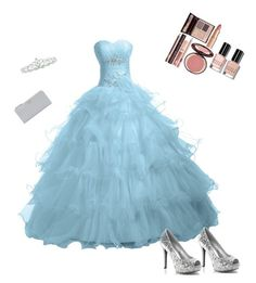 """prom ootp"" by suvisfi on Polyvore featuring Kate Marie, Prada, Bobbi Brown Cosmetics and Charlotte Tilbury"