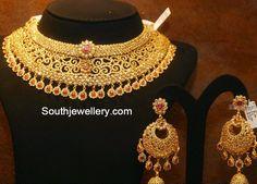 choker necklace set -