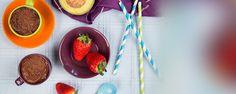 Bezlepková raw čokoládová pena   Hravo azdravo   Tesco.sk Everyday Food, Strawberry, Pudding, Fruit, Desserts, Tailgate Desserts, Deserts, Custard Pudding, Strawberry Fruit