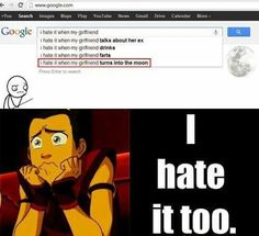 Ohh Sokka, You and Yue is end Why you don't understand that?