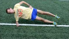 Single Plank Leg Lift