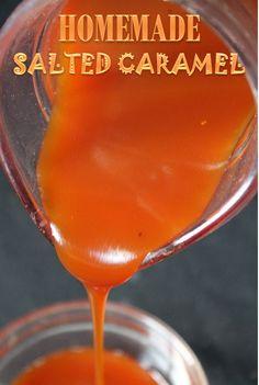YUMMY TUMMY: Homemade Salted Caramel Recipe / Salted Caramel Sauce Recipe