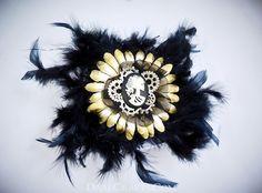 Debbie Hair Flower #DEHF48 #hairflower #hairaccessories #hairflowerclip #steampunkaccessories