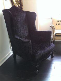 Beautiful Gothic Victorian Armchair