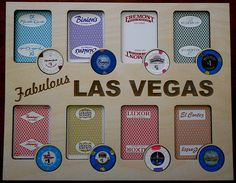 Custom Poker Player 11 by 14 Chip and Card Insert Fits 8