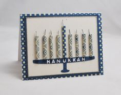 Homemade- Hanukkah_ Menorah_ Cards__16