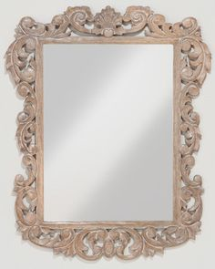 World Market Isla Carved Mirror Collection from The World Market | BHG.com Shop