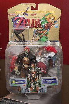 TOY BIZ Nintendo Legend Of Zelda: Ocarina Of Time Ganondorf Action Figure (2000)