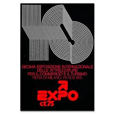 From the Grain Edit Archives: Poster by award-winning designer Mimmo Castellano –1975