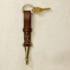 Surcingle Leather Key Fob
